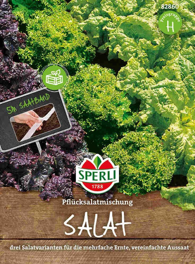 Pluksalater, såbånd - Salat Pflücksalat-kombination