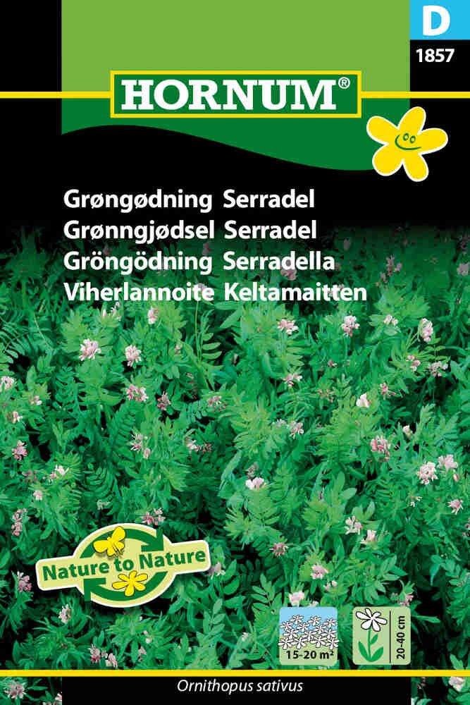 Grøngødning frø - Serradel