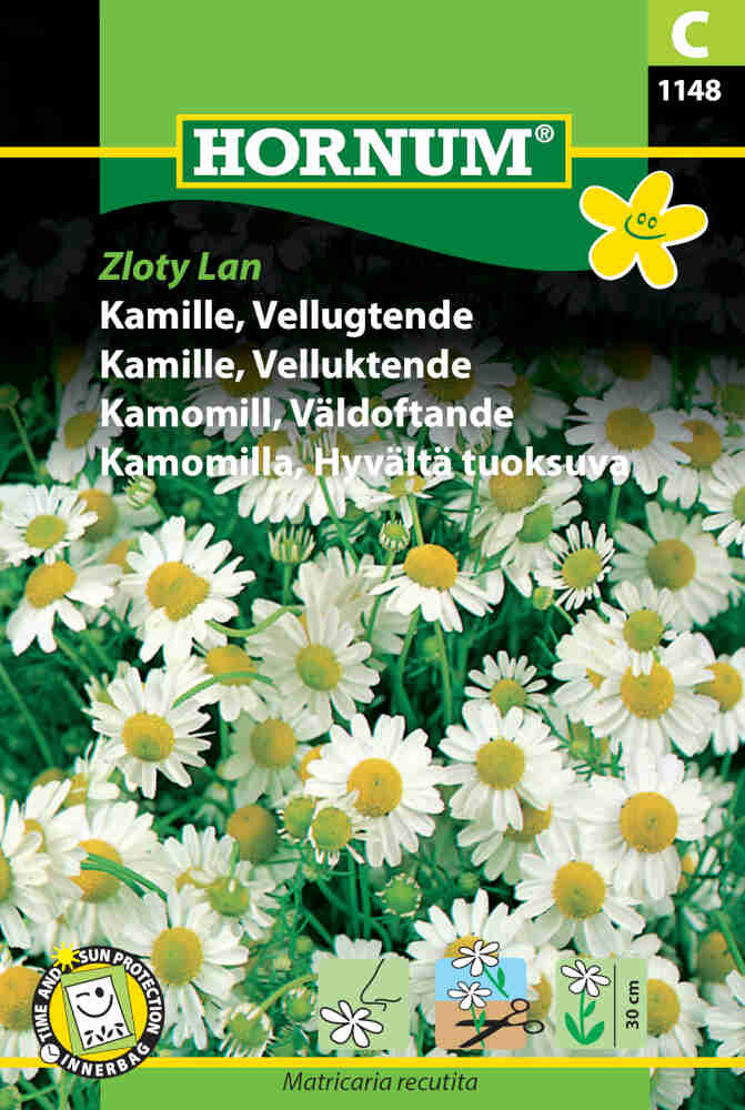 Kamillefrø - Matricaria recutita 'Zloty Lan'