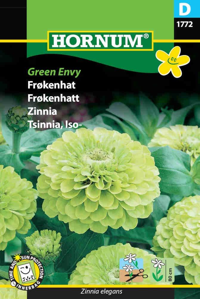 Frøkenhat frø - Green Envy