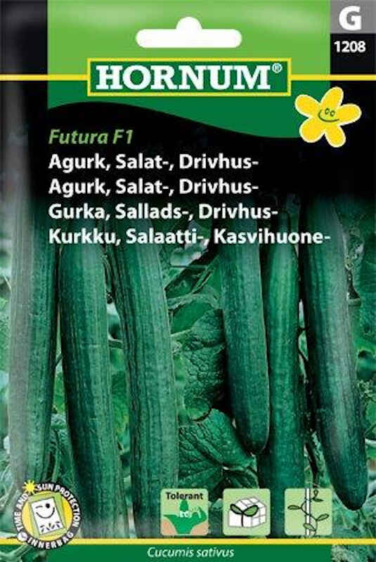 Agurkefrø - Salatagurk - Drivhus - Futura F1