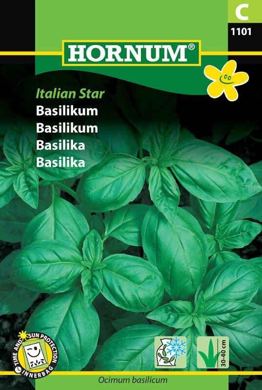 Basilikumfrø - grøn, Italian Star