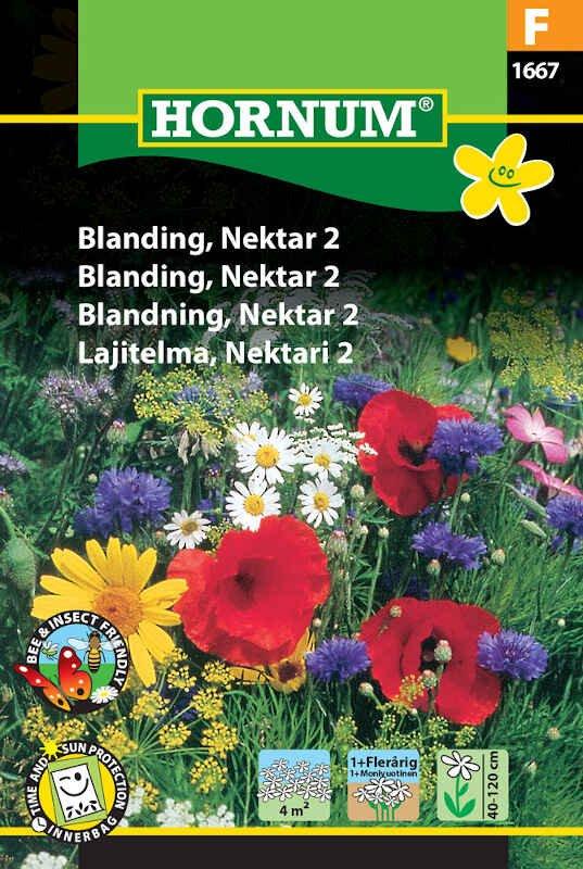 Blomster frøblanding - Nektar 2