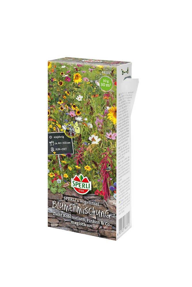 Blomster frøblanding - fugleblanding Nyhed