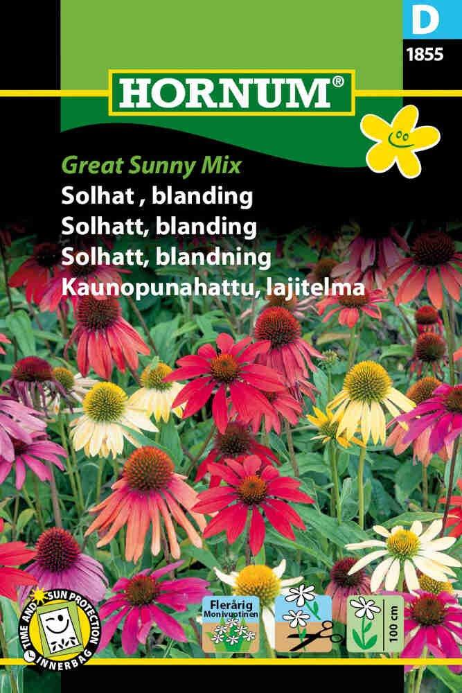 Solhat frø - blanding - Great Sunny Mix
