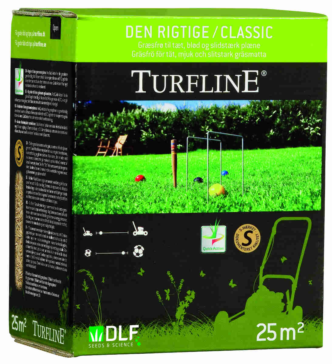 Turfline Den rigtige 0,5 kg - Græsfrø