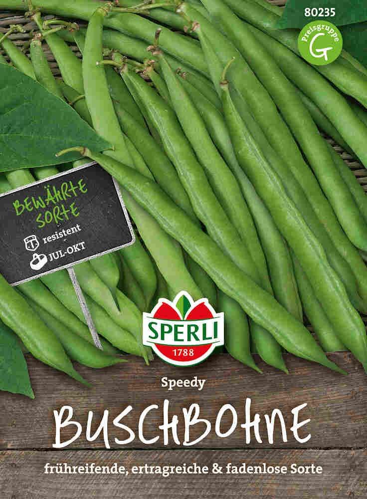 Buskbønne - Buschbohne Speedy