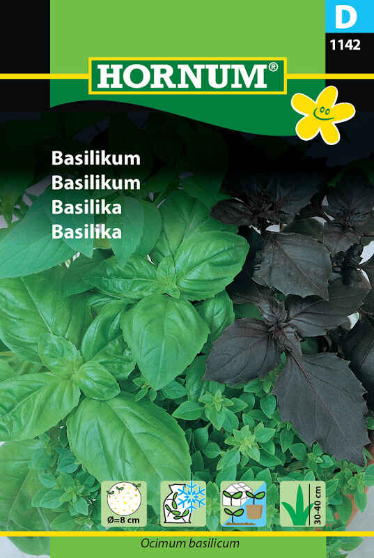 Basilikumfrø - Såskive