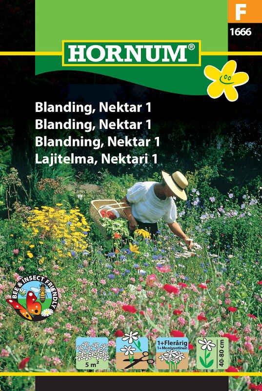 Blomster frøblanding - Nektar 1