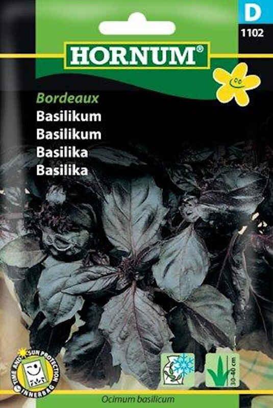 Basilikumfrø - rød, Bordeaux