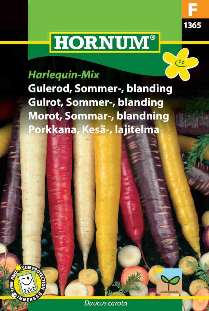 Gulerodsfrø - Sommergulerod - Harlequin-Mix F1