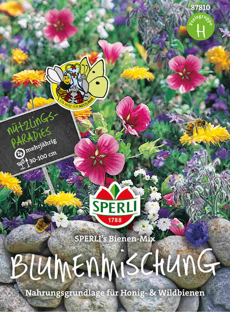 Blomster frøblanding -Bier