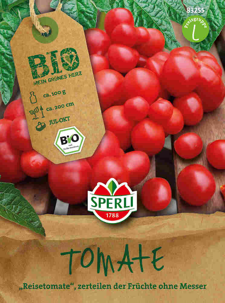 Tomatfrø -  Tomate Voyage - Økologisk