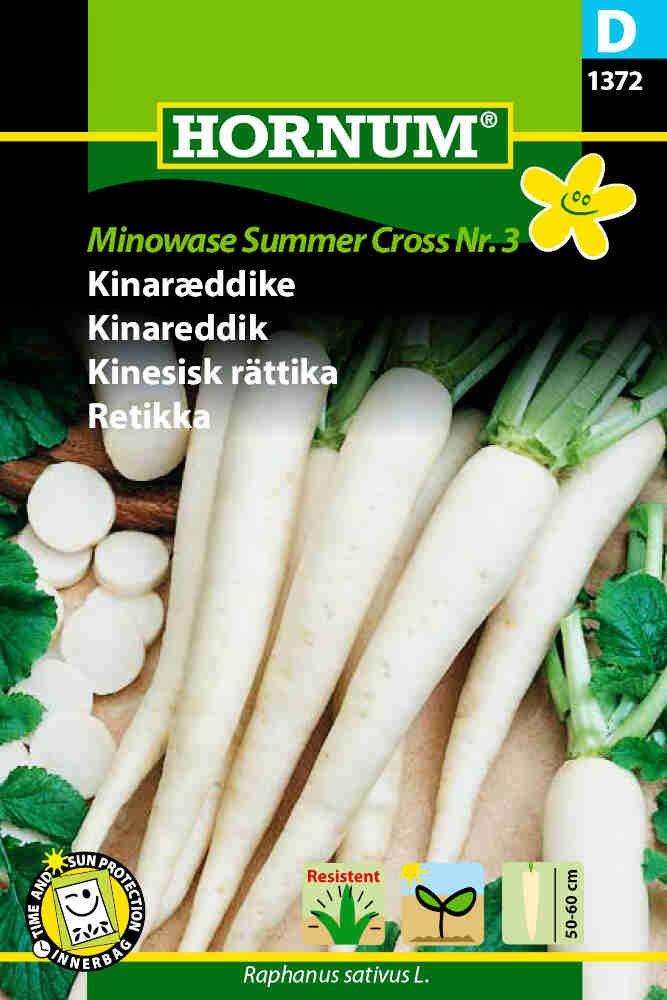 Kinaræddike frø - Minowase S.C. F1