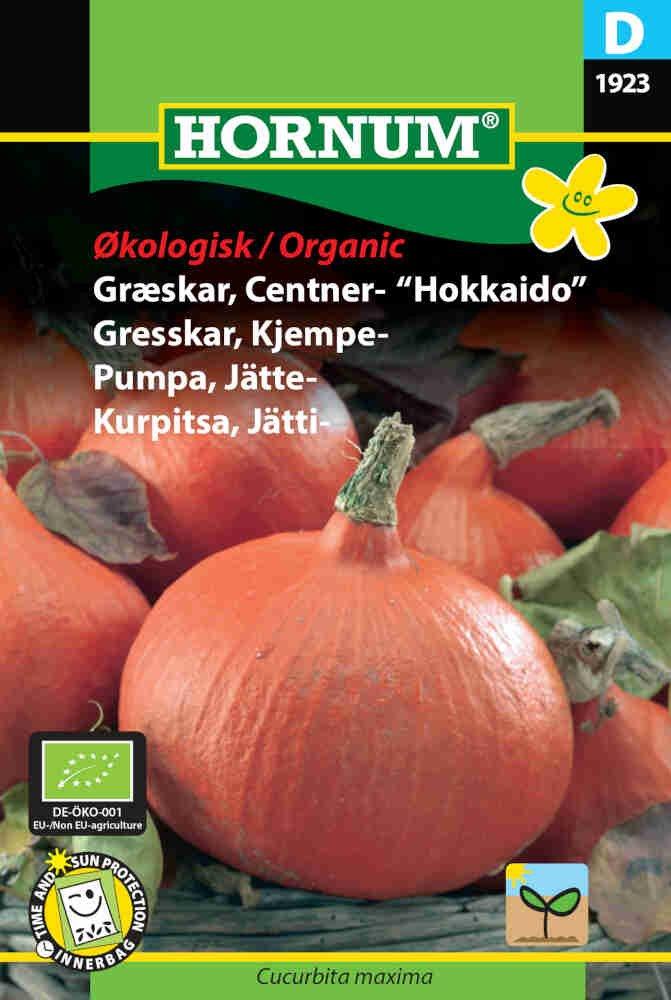 Græskar frø - Uchiki Kuri - Økologisk
