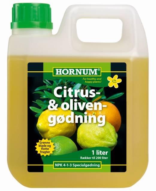 Citrus- og Olivengødning 1 l. - HORNUM