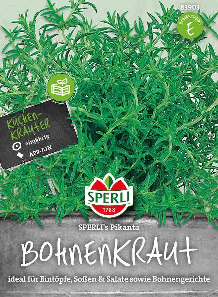 Bønneurtfrø - Bohnenkaut Pikanta