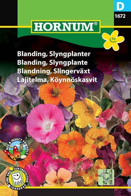 Blomster frøblanding - Slyngplanter