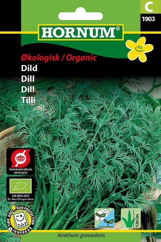 Økologisk Dild frø