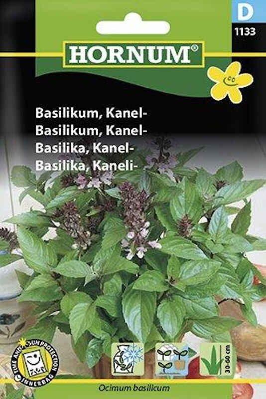 Basilikumfrø - Kanel-