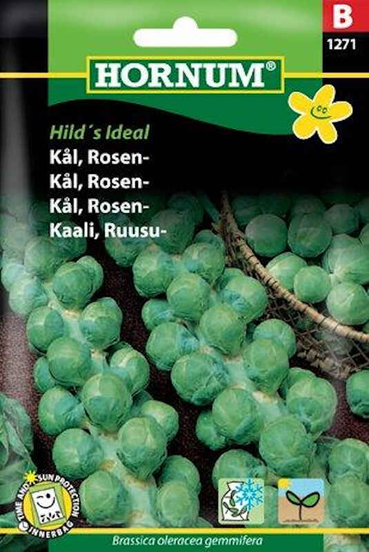 Kålfrø - Rosenkål - Hild's Ideal