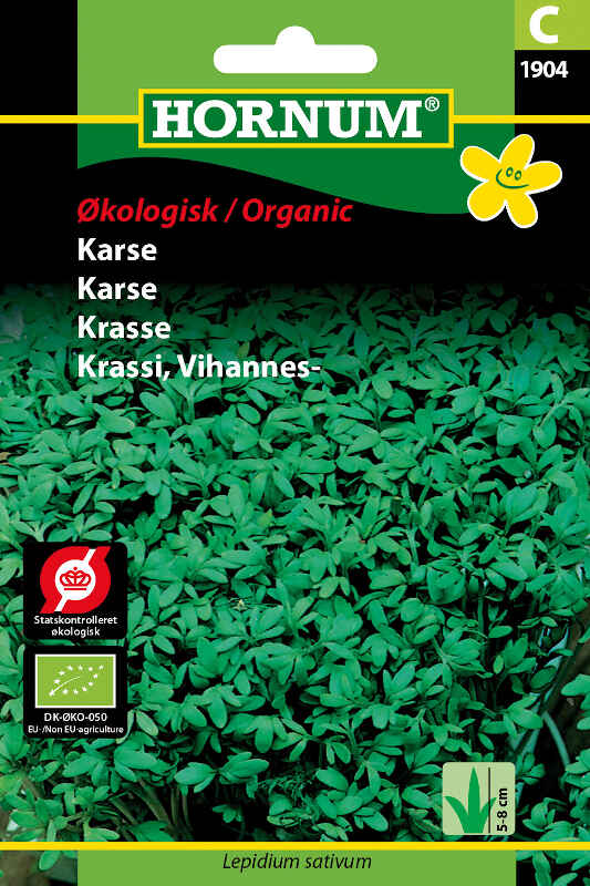 Økologisk Karse frø