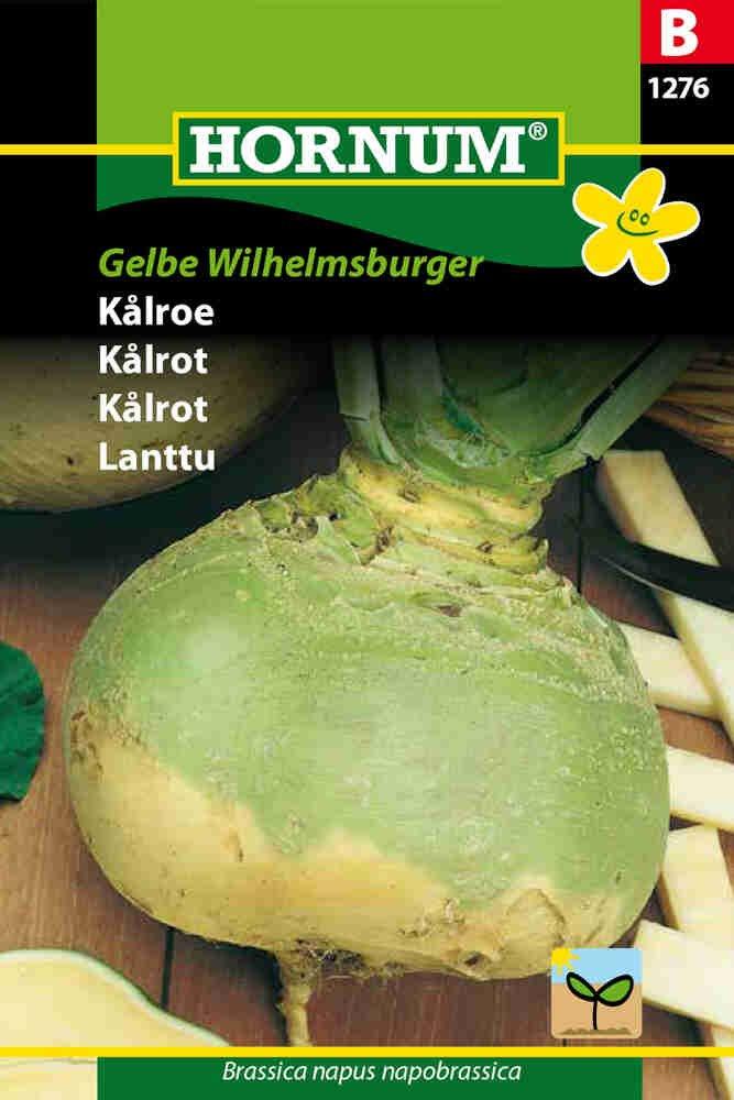 Kålroefrø - Gelbe Wilhelmsburger