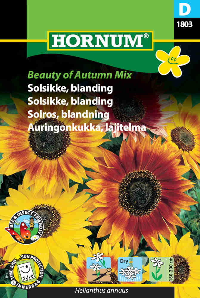 Solsikkefrø - blanding Beauty of Autumn Mix