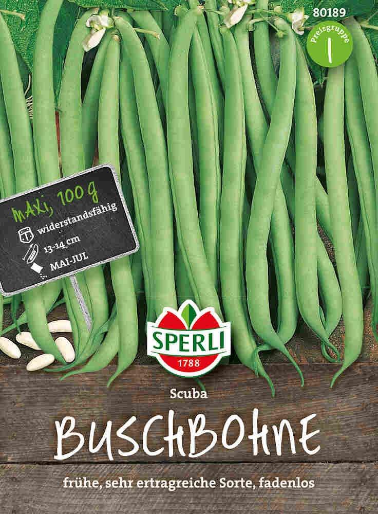 Buskbønnefrø -Scuba, MaxiPack 100 g