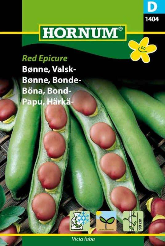 Bønnefrø - Valskbønne - Red Epicure