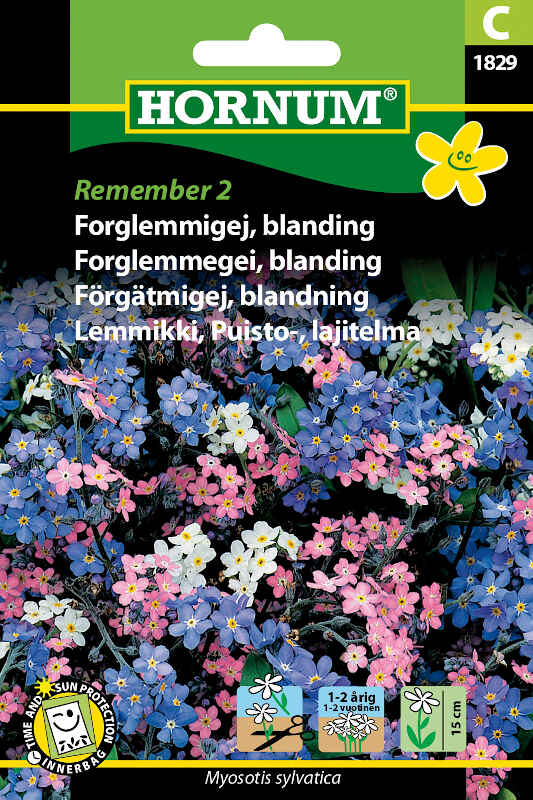 Forglemmigej frø - blanding - Remember 2