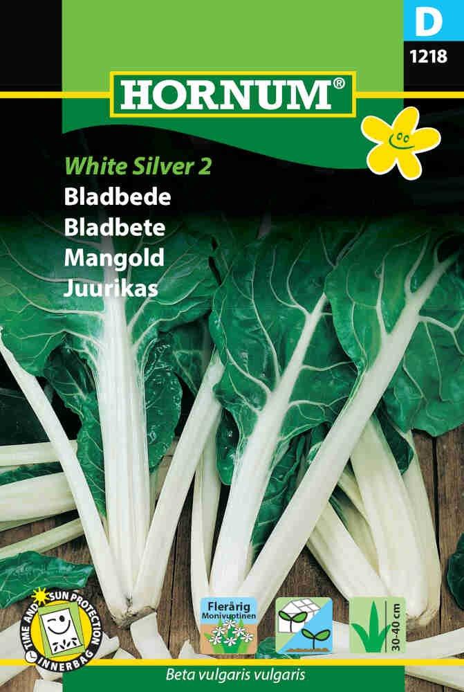 Bladbede frø - White Silver 2