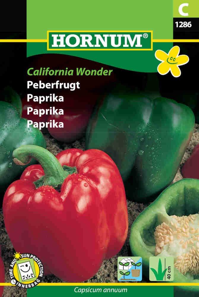Peberfrugt, California Wonder