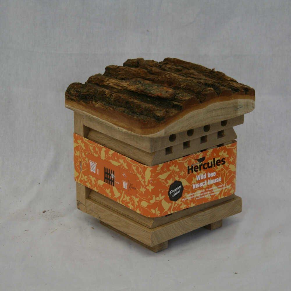 Insekthus vilde bier Eg 17x19x15.5cm