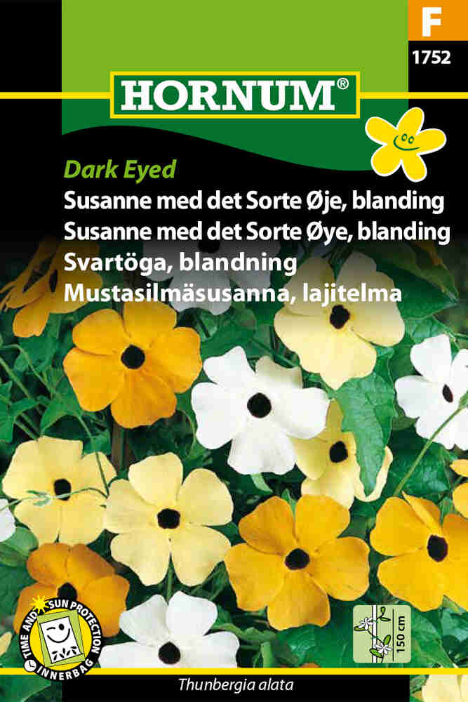 Susanne med det sorte øje frø - Dark Eyed