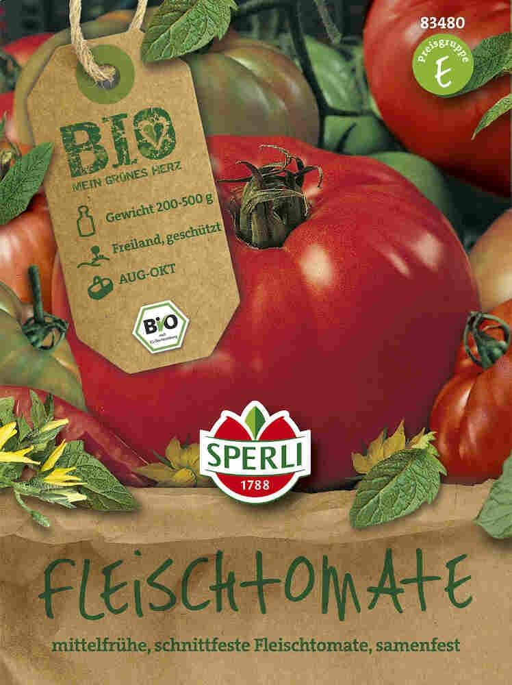 Tomatfrø - Fleischtomate  Marmande - Økologisk