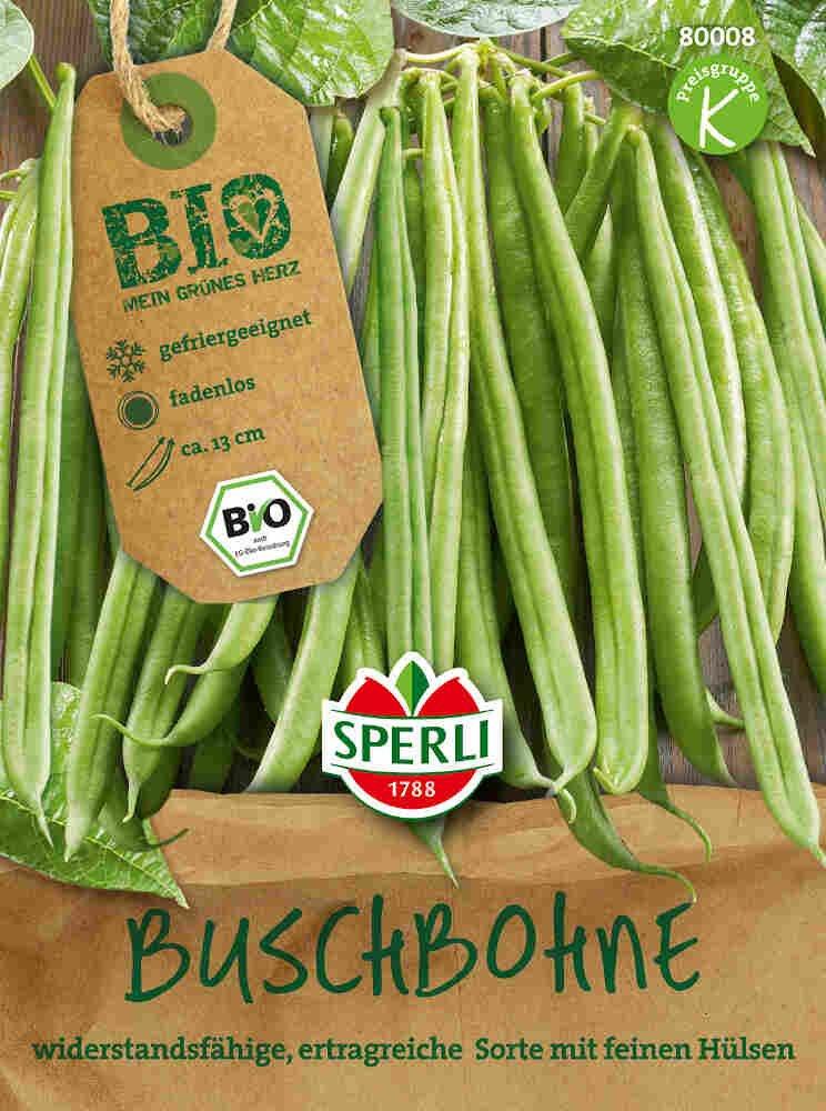 Buskbønne, type 2 - Buschbohne Domino - Økologisk