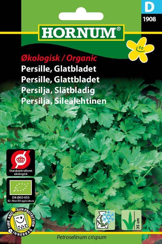 Økologisk Glatbladet Persille frø -  Gigante d'Italia