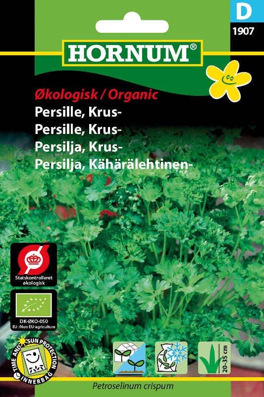 Økologisk Kruspersille frø -  Grüne Perle