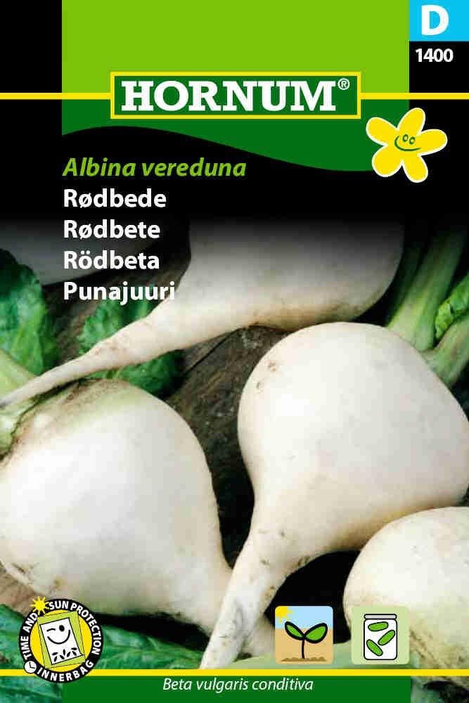 Rødbedefrø - Albina vereduna