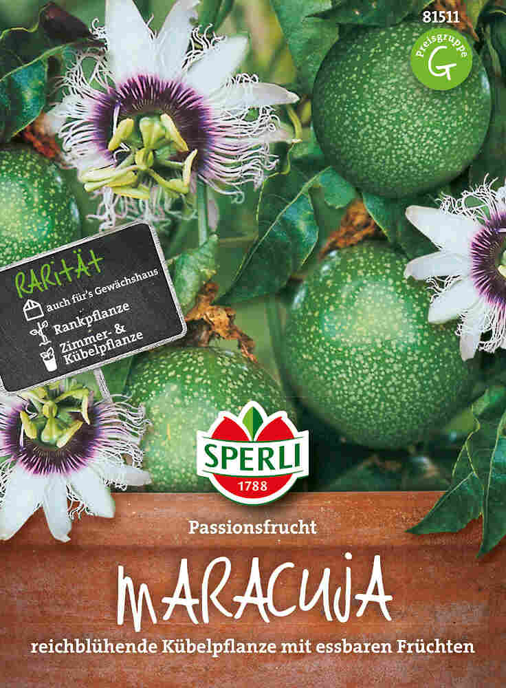 Passionsfrugt frø - Maracuja Passionsfrucht