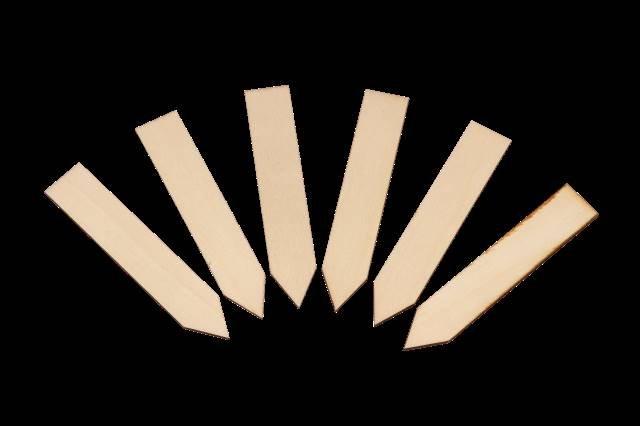 Wooden Labels 10 cm (25-pak)