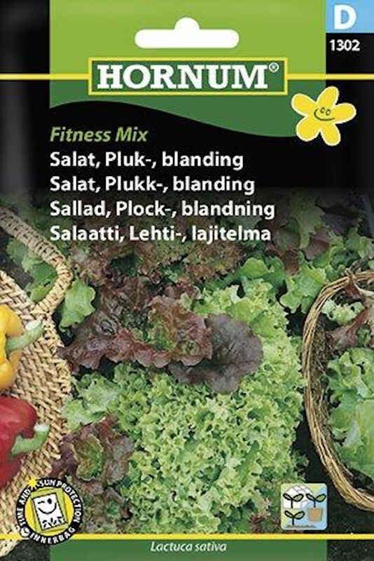 Salatfrø - Pluk - blanding, Fitness Mix