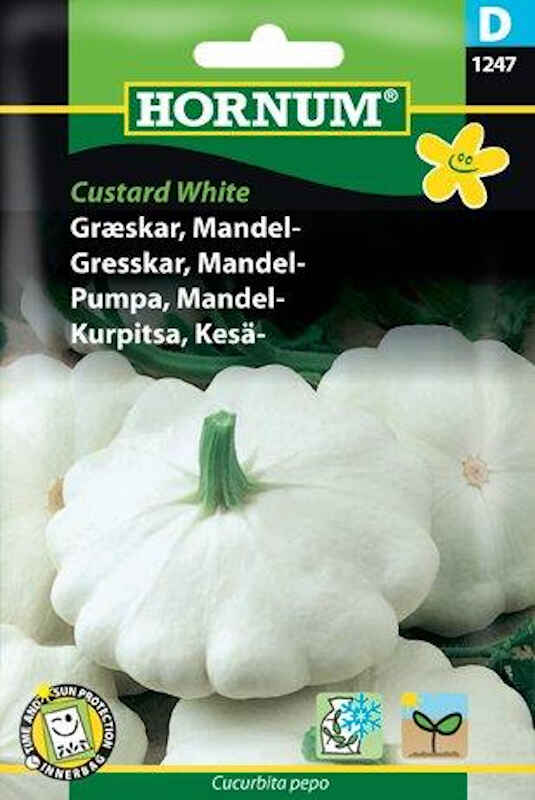 Græskarfrø - Mandel - Custard White