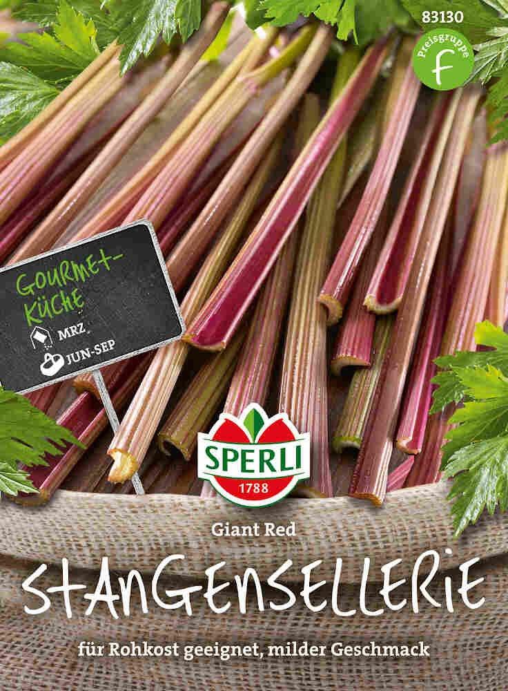 Bladselleri frø - Stangenselleie Giant Red