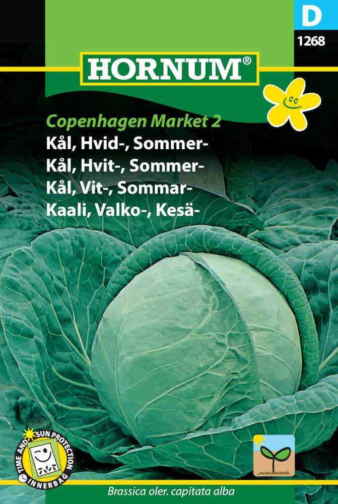 Hvidkål  frø - Sommer - Copenhagen Market 2