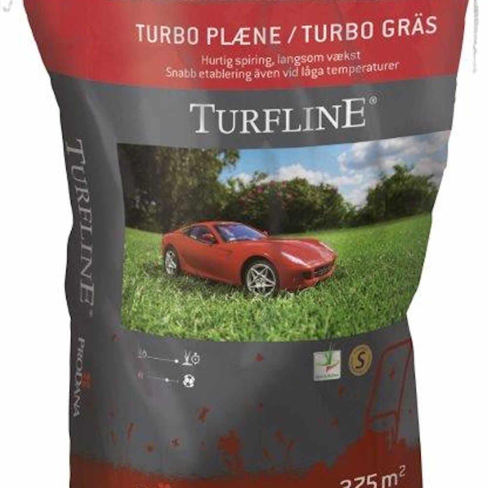Græsfrø - Turfline Turbo, 7,5 kg