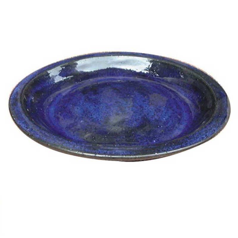Saucer Matt Blue 22 cm